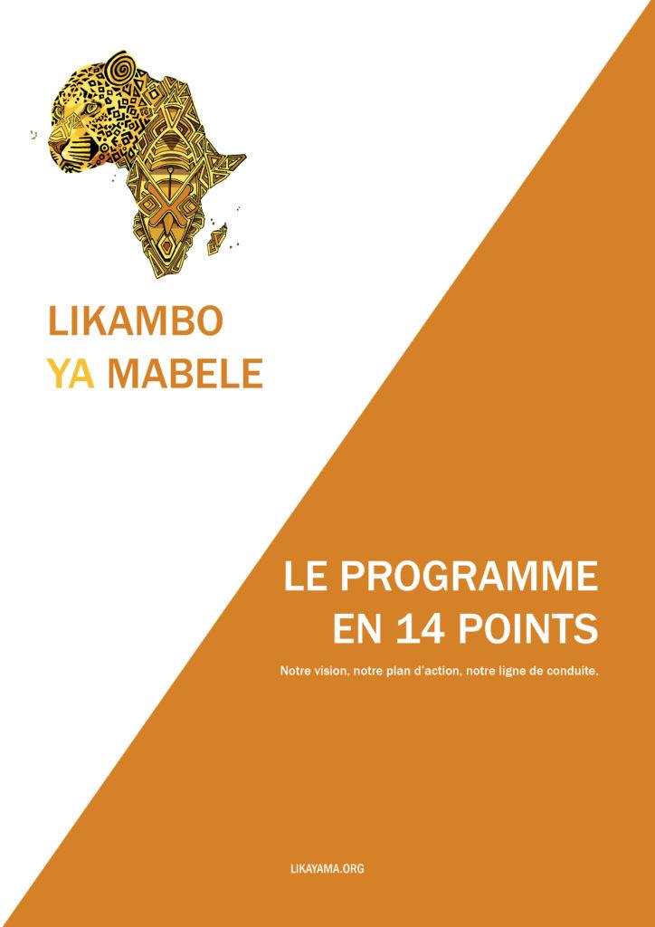 Télécharger le programme de Likambo Ya Mabele