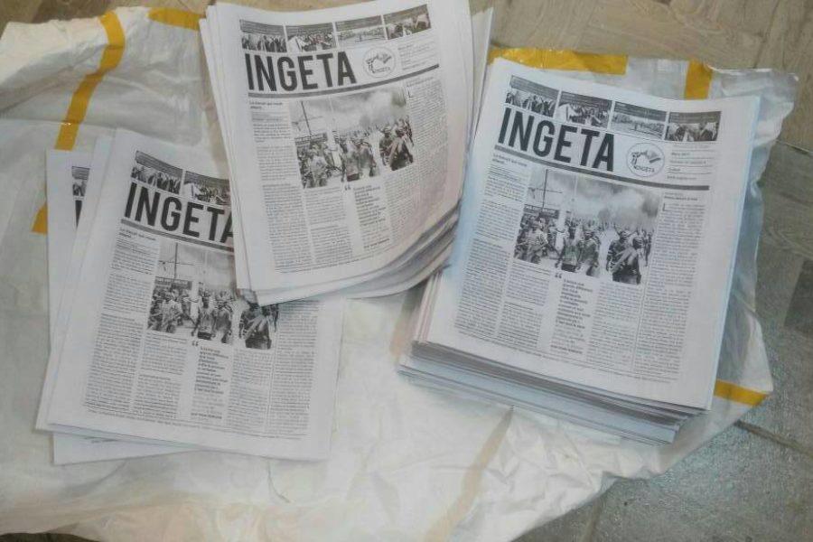 Le journal Ingeta à Kinshasa
